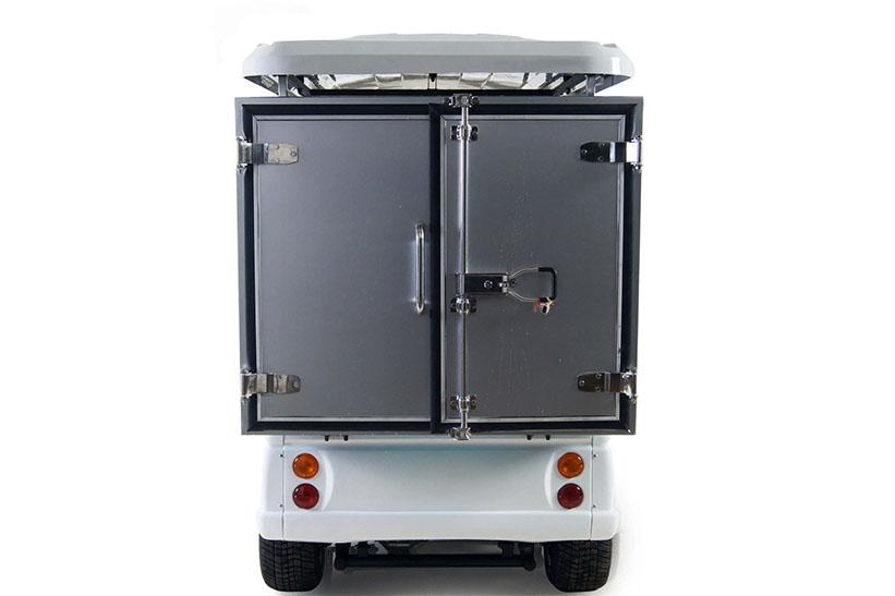 Butler-รถกอล์ฟไฟฟ้า2ที่นั่งพร้อมตู้อเนกประสงค์ด้านหลัง2