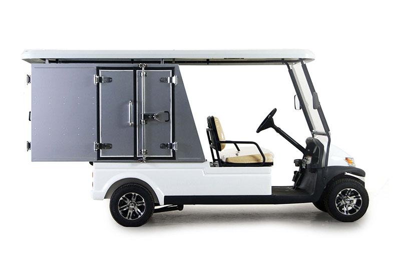 Butler-รถกอล์ฟไฟฟ้า2ที่นั่งพร้อมตู้อเนกประสงค์ด้านหลัง4