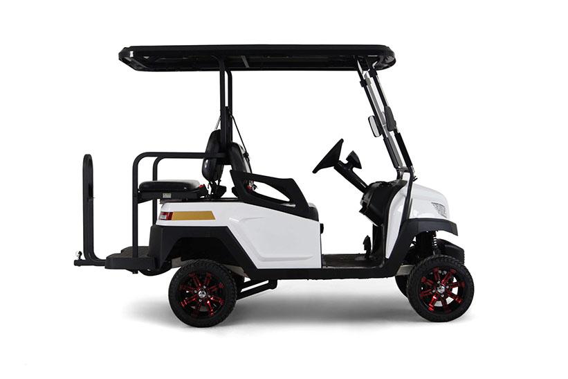 RiderPlus–M-รถกอล์ฟไฟฟ้า2ที่นั่ง+2ที่นั่งหันหลังเบาะพับได้