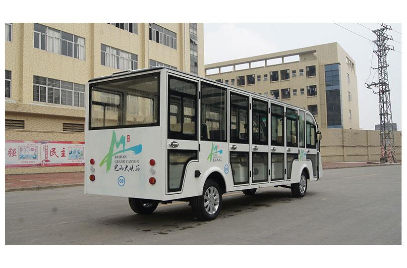 รถบัสโดยสารไฟฟ้า มีประตู custom ktpan 3