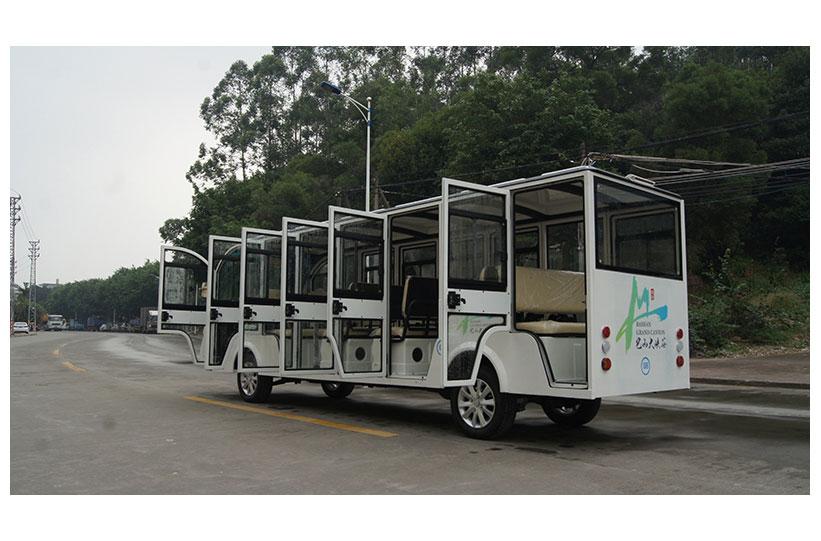 รถบัสโดยสารไฟฟ้า มีประตู custom ktpan 1