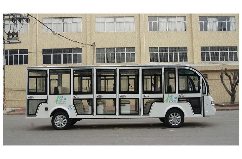 รถบัสโดยสารไฟฟ้า มีประตู custom ktpan