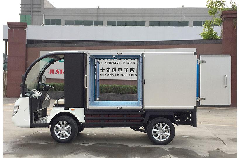 รถตู้ขนของไฟฟ้า งาน custom ktpan 8