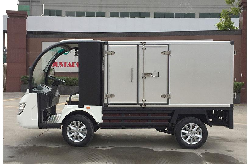 รถตู้ขนของไฟฟ้า งาน custom ktpan 6