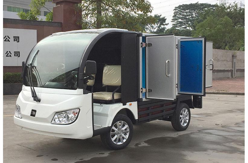 รถตู้ขนของไฟฟ้า งาน custom ktpan 4
