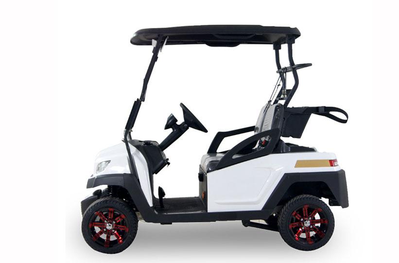 ด้านข้าง รถกอล์ฟไฟฟ้า ktpan model M